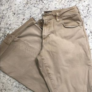 Men's AG tan denim pants